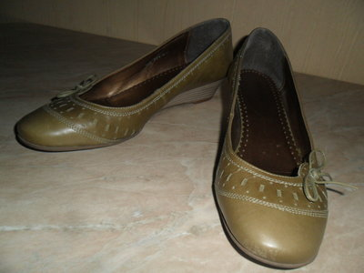 Туфли Сlarks размер 39,5 6,5 Кожа .Македония