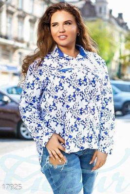 Блуза плюс сайз