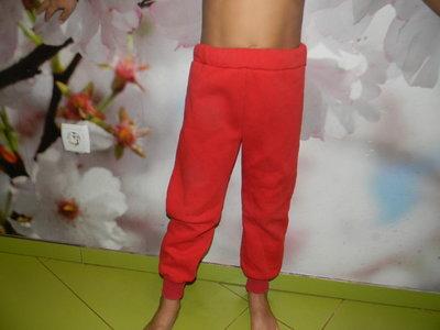 штаны тёплые унисекс для дома -улицы на 7-8 лет б/у