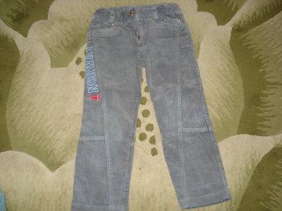 Вельветовые штаны фирмы Бемби