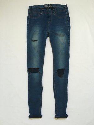 Джинсы с прорезами на коленях new look