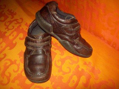 Шикарные кожаные туфли на осень Португалия 17,5см