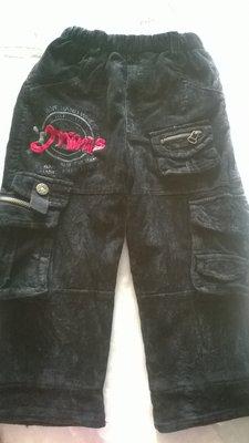 тёплые чёрные вельветовые штаны