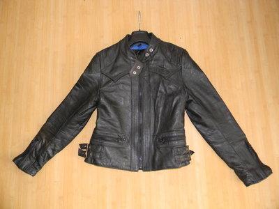 куртка кожаная унисекс 46-48 р б/у