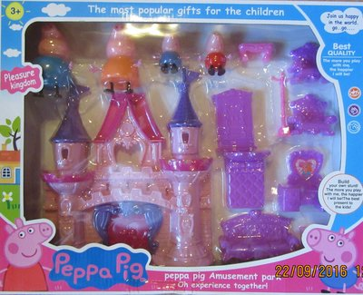 Замок семьи свинки Пеппы