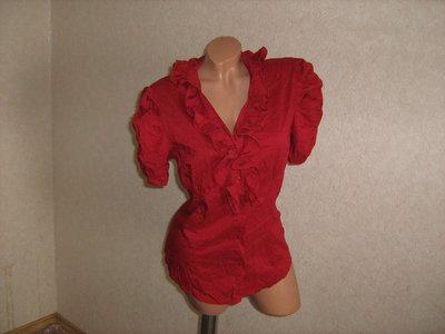 Блузка коттоновая, размер 46-48, Италия