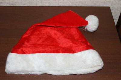 Продано: Шапка Санта Клауса новая хорошего качества
