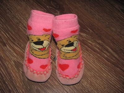 Тапочки носочки, чешки 16-17 размер