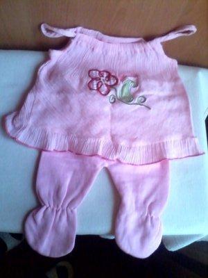 Новые платье ползунки для малышки 0-6 мес