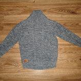 Классный свитер George на 7-8 лет, 100% котон, теплый, плотный длина 46, под мышками 39, рукав от пл