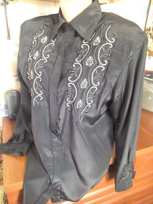 Lanster красивая блуза с вышивкой и бисером 48-50р