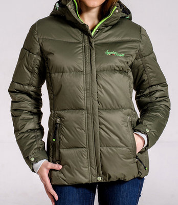 Зимняя очень теплая куртка Avecs на холлофайбере,раз 50