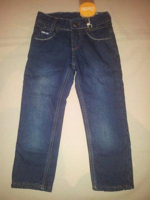 Теплые джинсики Бемби р.98-116