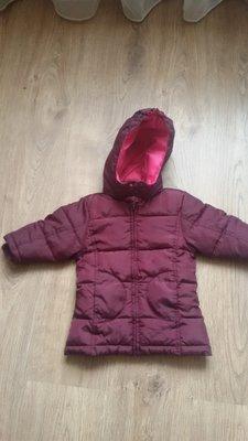 Курточка-Пальто на девочку весна р. 74-80