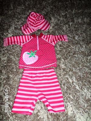 Плавательный костюмчик для девочки
