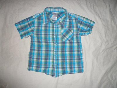 Яркая разноцветная рубашка Peacocks на 5-6 лет