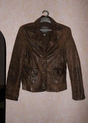 натуральная кожаная куртка на 46 р