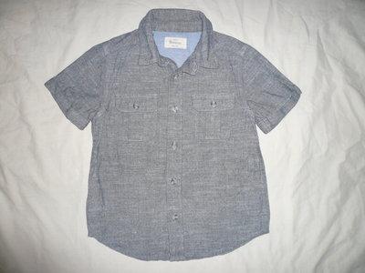 Рубашка серо-синяя Roverco 5-6 лет
