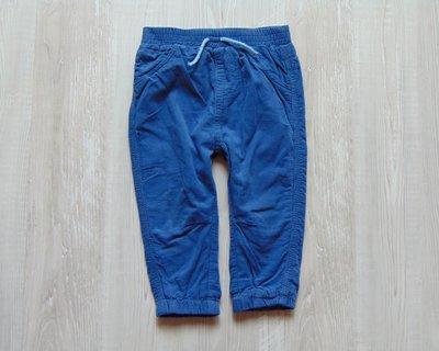 Стильные вельветовые штаники для мальчика. George. Размер 12-18 месяцев.