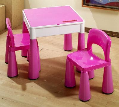 Комплект Tega Mamut. Многофункциональный стол и 2 стула