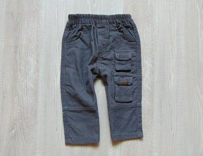 Плотные вельветовые джинсы для мальчика. Jumbo. Размер 12 месяцев. Состояние отличное