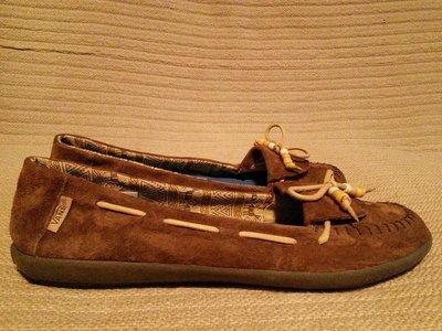 Для любителей обуви Vans - замшевые топсайдеры ORIGINAL SURF SIDERS. 41 р.