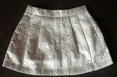 Нарядная юбка, юбочка из золотистой парчи, на 3 года, р.98