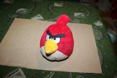Птичка из мультика Angry Birds