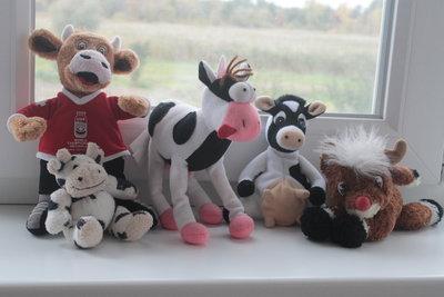 Мягкие игрушки коровки по 10 грн