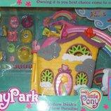 Дом пони с радугой-лифтом