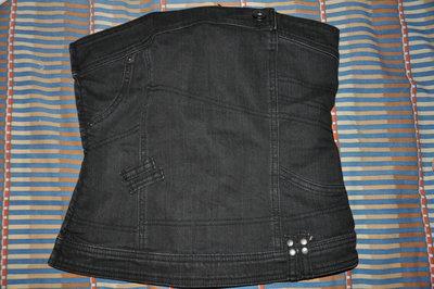 Фирменный джинсовый топ из Италии, размер примерно S