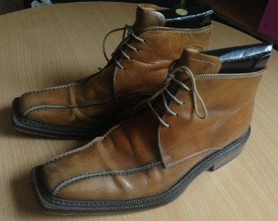 Мужские ботинки 100% Италия, размер 42 27,3 см по стельке