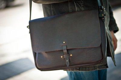 Сумки мужские натуральная кожа Почтальон эксклюзив messenger bag
