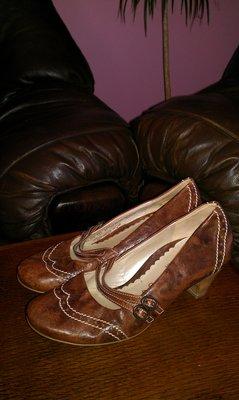 Туфлі gabor шкіра 37 р