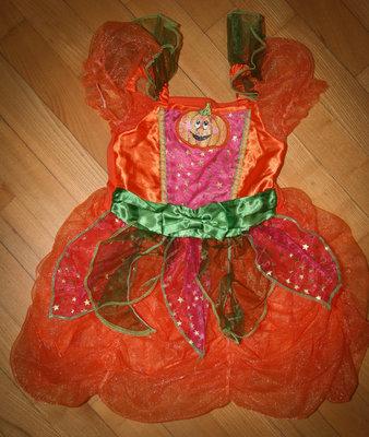 Прокат/продажа платье тыковка на хелоуин