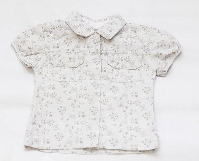 Нарядная Рубашечка для девочки 80 см Детские вещи выбор