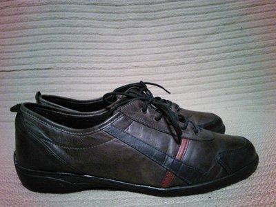 Легчайшие утепленные комбинированные кожаные кроссовки Beegle Германия 43 р.