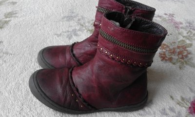 Ботинки, сапожки Mod8. Натур. кожа. Размер 28 стелька 18 см .