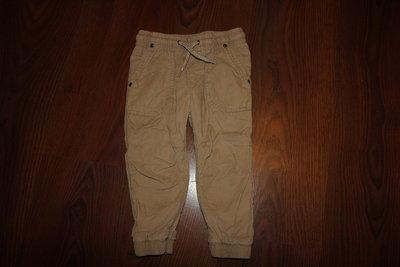 Вельветовые, микровельветовые штаны, джинсы на подкладке на мальчика 12-18 мес