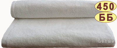 Махровое полотенце 30 50 см 450 г/м2
