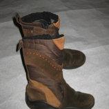 зимние сапоги Ecco с гортексом, 17,5 см стелька