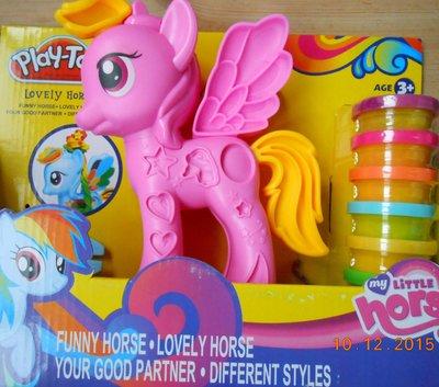 Продано: Набор для творчества Пони с кинетическим песком