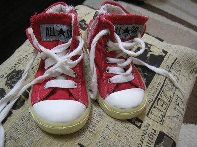 Кеды Converse для девочки 23 р-р