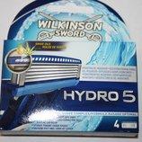 Сменные картриджи Schick Wilkinson Hydro5 упаковка 4 штуки