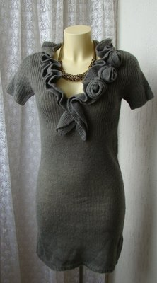 Платье теплое трикотаж Fresh Made р.40-42 7168