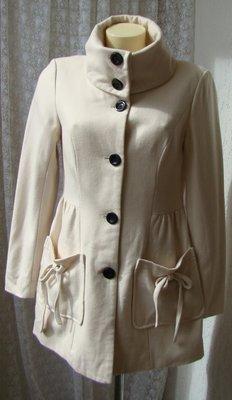 Пальто шерсть вискоза Vero Moda р.44 7171
