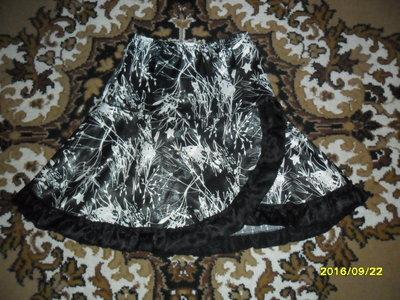 Красивая нарядная юбочка для модницы на 6-8лет
