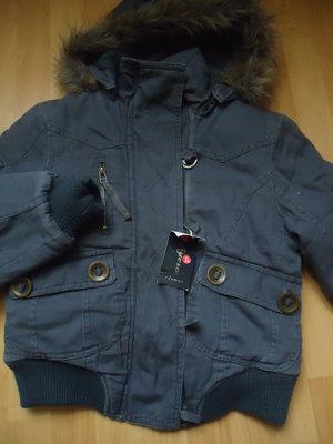 новая тёплая куртка котон