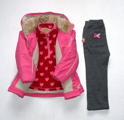 Теплая демисезонная куртка для девочки 23 мес