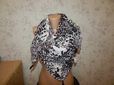 платок стильный модный большой